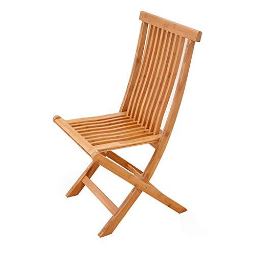 Eytup Chaise Pliante en Bambou Grande et Moyenne Chaise de Bambou (Taille : 35 * 25 * 58cm)