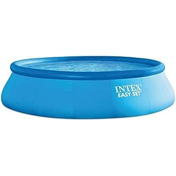 INTEX - Kit piscine Easy Set gonflable 4,57 x 1,07 m
