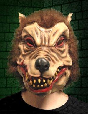 WearWolf wolf Man Nightmare-Überkopf-Maske aus Latex, für Erwachsene, Scary Monster Halloween Horror Fancy Dress Party Happy Bargains Ltd.
