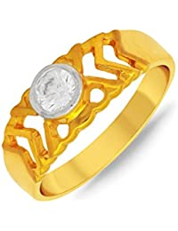 P.N.Gadgil Jewellers Lavanya Collection 22k (916) Yellow Gold Ring - B01M8HPK62