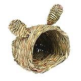 Hianiquaime® Nido de Hámster Hecho de Grass Invierno Cálido Cama Casa Ideal para Ratón Ardilla Chinchilla Cobaya y Otros Pequeños Animales 03