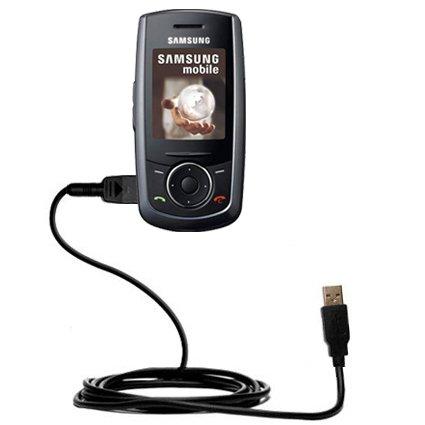 Das Hot-Sync Straight USB-Datenkabel für Samsung SGH-M600 mit Lade-Funktion mit TipExchange kompatiblen Kabel