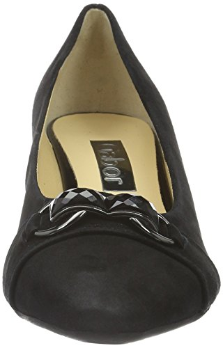 Gabor Shoes 55.140 Damen Geschlossene pumps Schwarz (schwarz 17)