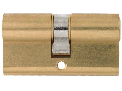 Yale Locks X6 80 mm 35 x 35 finitura ottone lucido e certificazione KiteMark Cilindro doppio profilo europeo