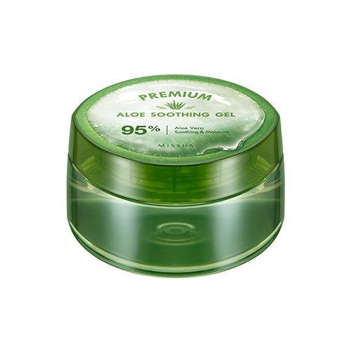 Missha - Aloe Soothing Gel 95 - 95 % Aloe Vera Gel - Gesichtspflege für Frauen und Männer