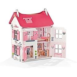 """Janod - Casa de muñecas de madera """"Mademoiselle"""" (J05725)"""