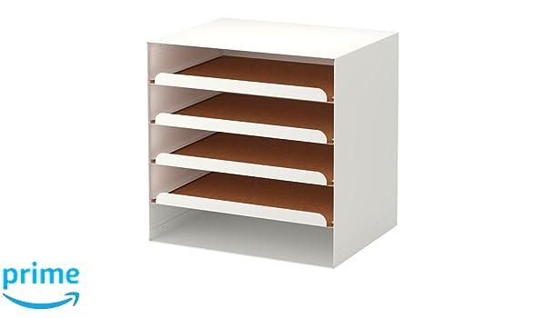 Ikea kvissle corbeille à courrier blanc amazon cuisine