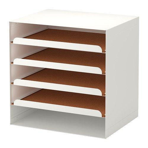 IKEA KVISSLE -Briefablage weiß