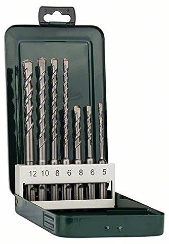 Bosch DIY 7tlg. Hammerbohrer-Set SDS-plus