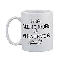 WTOMUG You will always be my best White Mug Be The Leslie Knope Of Whatever You Do Mugs Monogram Your Text Mug Ceramic Coffee Mug 11 oz
