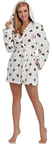 L&L Accappatoio per Donna Poppy Mini Onyx Stella