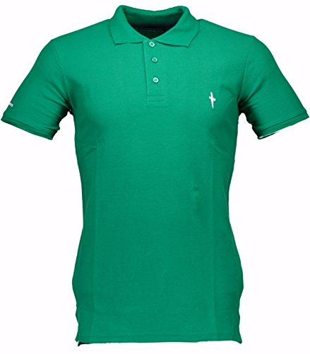 polo-cesare-paciotti-uomo-men-t-shirt-100-italy-fashion-piquet-stone-washed-vintage-verde-l