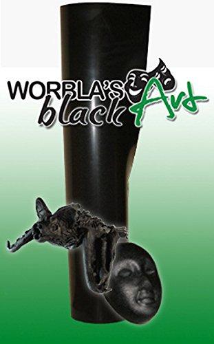 Worblas Black Art Platte Größe S (50x37,5cm Bastel Cosplay) thermoplastischer schwarzer Werkstoff