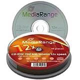 Medianca CD-RW 80 700MB - Confezione da 25