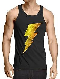 CottonCloud Sheldon Lightning Bolt Camiseta de Tirantes para Hombre Tank Top f2f66ecf952