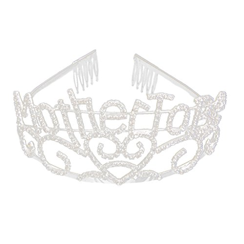 Mother To Be Tiara mit Kamm Baby Dusche Party Fancy Dress ()