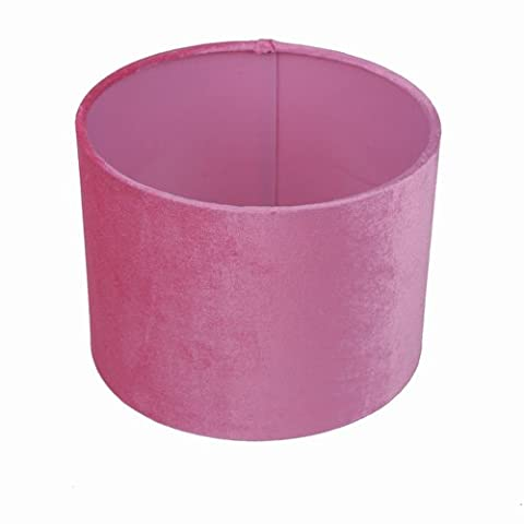 Lampshade in rose made of fabric, TL 20-20-15