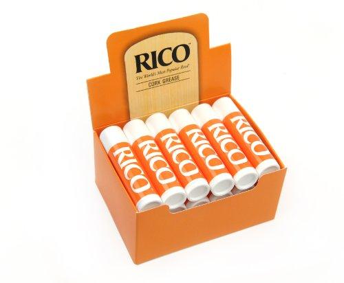 rico-rcrkgr12-pack-de-12-tubos-de-grasa-para-corcho