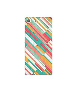 Kolor Edge Printed Back Cover For Sony Xperia M5 Multicolor - (4556-Ke10144XperiaM5Sub)