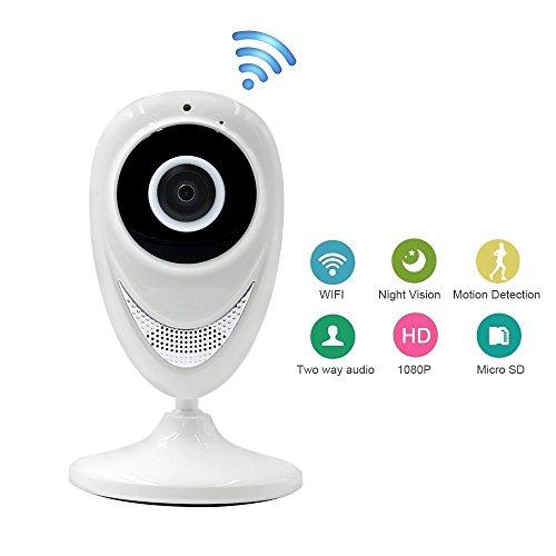 Drahtlose IP-Kamera UYIKOO HD 720P Wifi Kamera Home Security Überwachung Nanny Cam mit Nachtsicht für Baby / Ältere / Pet / Nanny Monitor Kamera Pet-cams