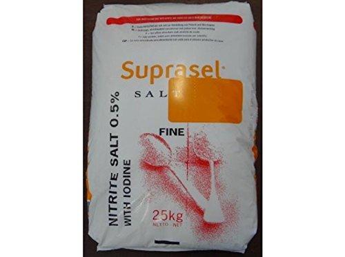 Siedesalz Pökelsalz 25kg 0.5% Nitritpökelsalz mit Jod Qualität