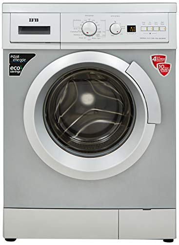 IFB 7 kg Fully-Automatic Front Loading Washing Machine (Serena Aqua SXA LDT, Silver, Inbuilt Heater, Aqua Energie water softener)