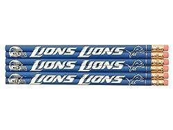 Detroit Lions Pencil 6 Pack