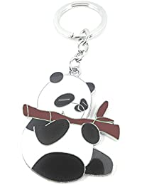 RJM Kung Fu Panda Metal Keychain | Keyring | Key Ring For Car Bike Home Office Keys | Key Chain For Kids Men Women...