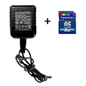 Motion Activated AC Adapter Hidden Camera Self-Recording Spy DVR - PRO Model with 8GB SD Card