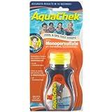 Aquachek - aquaoxy - 50 bandelettes test pour oxygène ORANGE