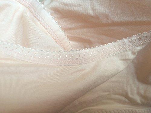 Umstandsmode Schlafen Still-BH, ZUMIY Nahtlose Schwangerschaft Mutterschaft Stillen Modal NursingTop Black+Apricot
