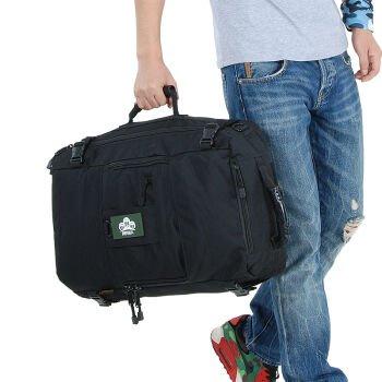 Outdoor-Bergsteigen Tasche wasserdichter Rucksack Dual übernehmen den Großteil der Reise Businesstasche ,60L 22-Zoll,Schwarz