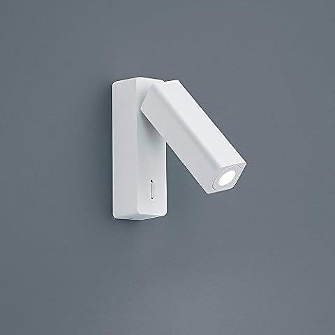 Helestra Pina–Lámpara LED de pared mattweiß 18/1622.07