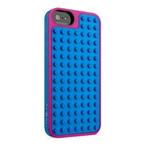 Belkin F8W283vfC01 LEGO Polycarbonate Case for iPhone5 Purple / Blue