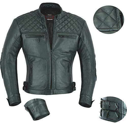 Spion Herren Sommer Motorradjacke mit Luft-schlote – M - 2