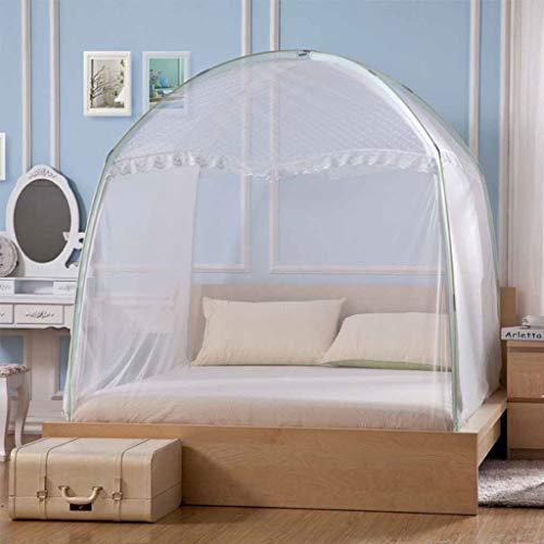 skitonetz für Bett-einzelne Reise, Tür-Zelt-Ineinander greifen-Überdachungs-Vorhänge der Haube-3 mit Unterseite für Bett-Ausgangsschlafzimmer im Freien kampieren ()