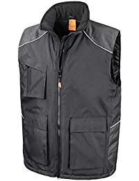 Result Work-Guard Mens Work-Guard Vostex Bodywarmer