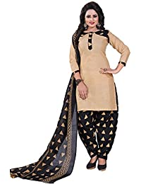 Om Tex Creation Women's Pure Cotton Printed Dress Material For Women With Cotton Dupatta Unstitched - B0785JT6JV