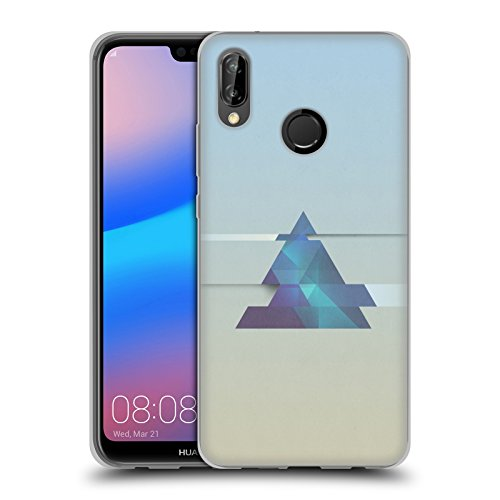 Head Case Designs Offizielle Alyn Spiller Dreieck Abstrakte Formen Soft Gel Hülle für Huawei P20 Lite (Formen Abstrakte)