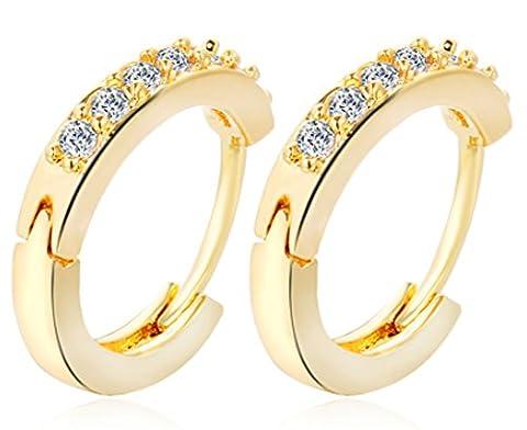SaySure- Zircon Earrings Charm Fashion Jewelry Wedding