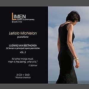 Ludwig van Beethoven. 32 Sonate e principali opere pianistiche - Letizia Michielon (CD+DVD)