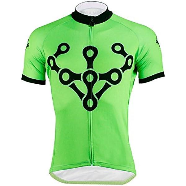 Ropa de Ciclismo Hombre de Conjunto de Transpirable y Elástico Ciclistas en Verano Men's Cycling Jerseys Large