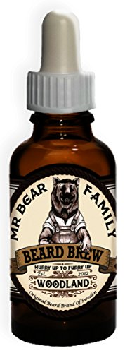 Mr. Bear Family Beard Brew - Woodland 30 ml Bartöl