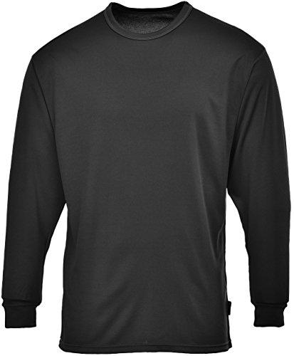 Preisvergleich Produktbild Thermo Unterhemd Herren Sweatshirt, Gr. Medium, Schwarz