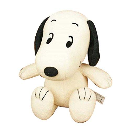 Cacahuete cacahuetes Vintage 70s Snoopy S tamano de juguete de peluche sentado de 16 cm de altura