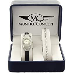 Montre-Concept Ref: MCCB6-2786 Gift Set Ladies' Watch Gift with Bracelet - Silver