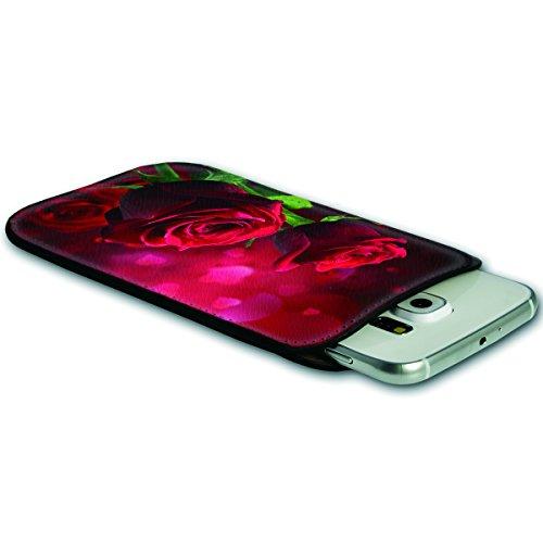 Sleeve Style Handy Tasche Case Schutz Hülle Schale Motiv Etui für Apple iPhone 6 / 6S - Sleeve UBS15 Design11 Design 8