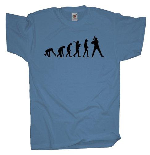 Ma2ca - Evolution - Baseball T-Shirt Skyblue
