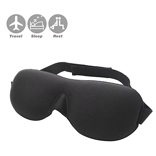 3D Sleep Mask weich gepolsterter Eye Masken - Bliss Maske
