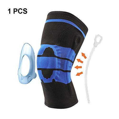 WESYY Kniebandage, Knieschoner Knieschützer für Laufen Walking Radfahren Basketball und Knie Sicherheit Schmerzlinderung - Sport Verletzungen Knieschoner knieorthese(1PC)